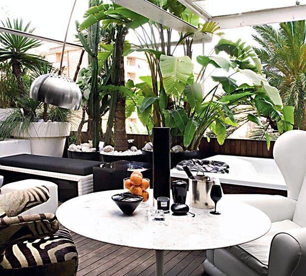 terrazzo moderno: idee per arredare il terrazzo | arredamento ... - Idee Arredo Terrazzo