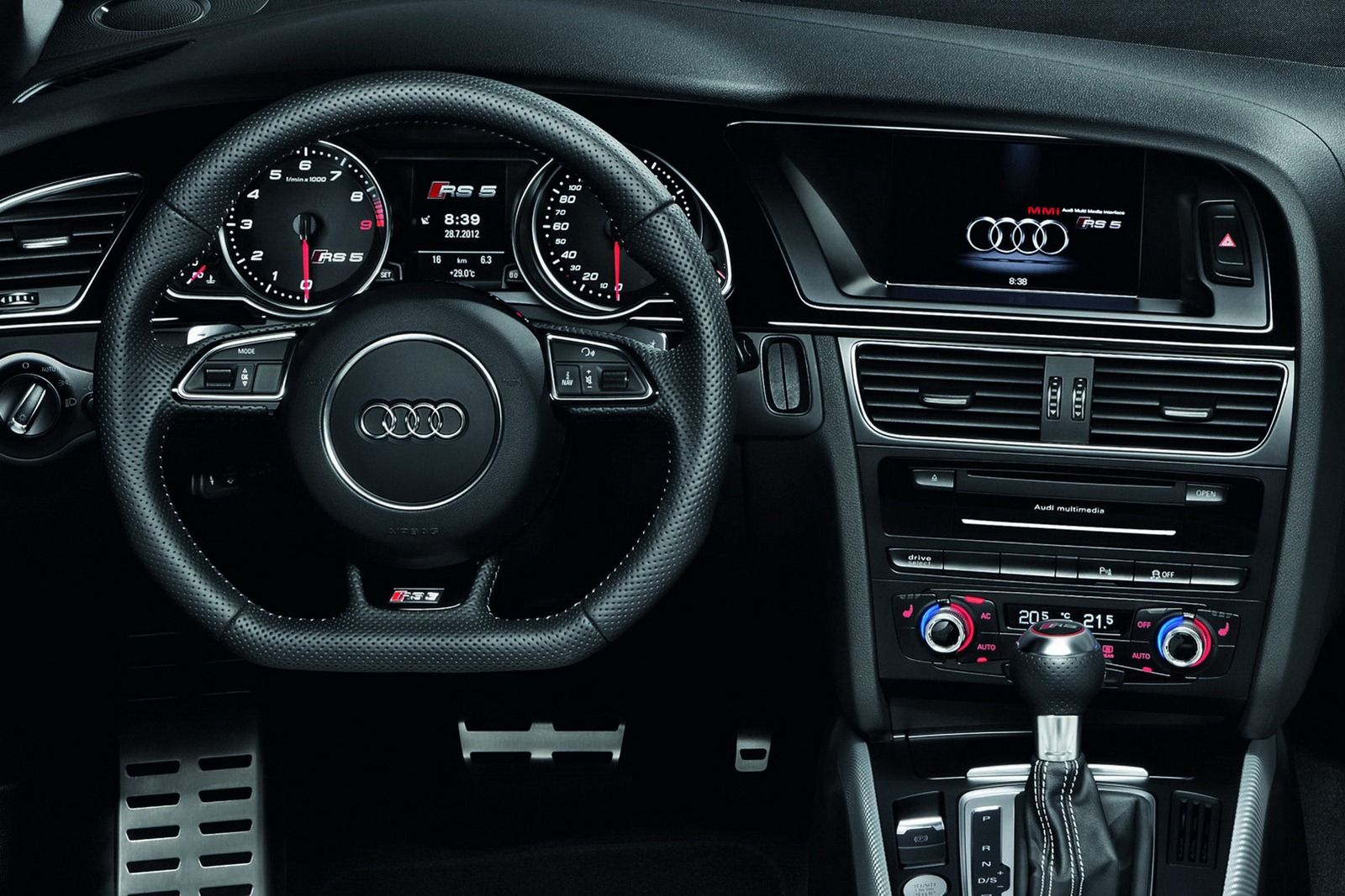 pictures audi rs5 inside | Audi RS5 Cabriolet convertible interior ...