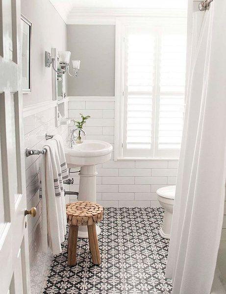 Los baños (pequeños) más inspiradores | Baño blanco, Cuarto de baño ...