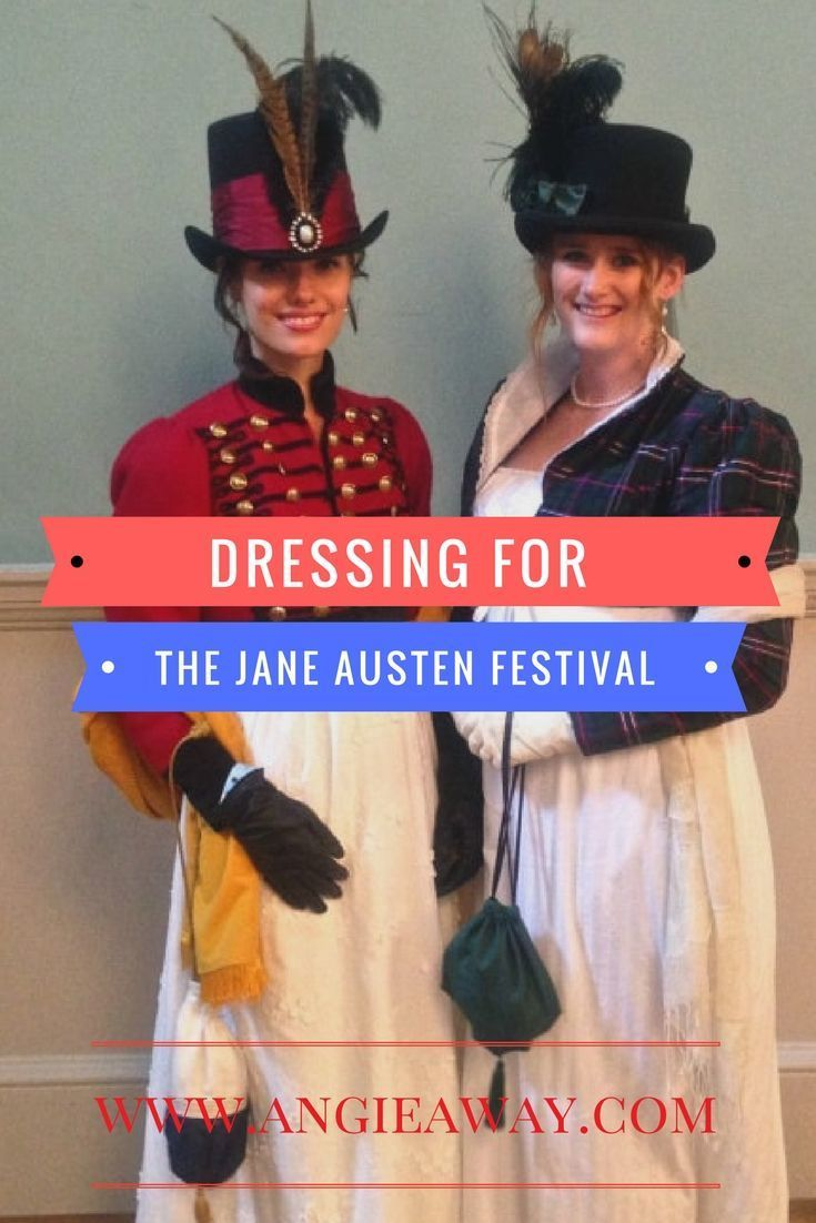 Tips for packing and dressing for the Jane Austen Festival in Bath, UK. #OMGB