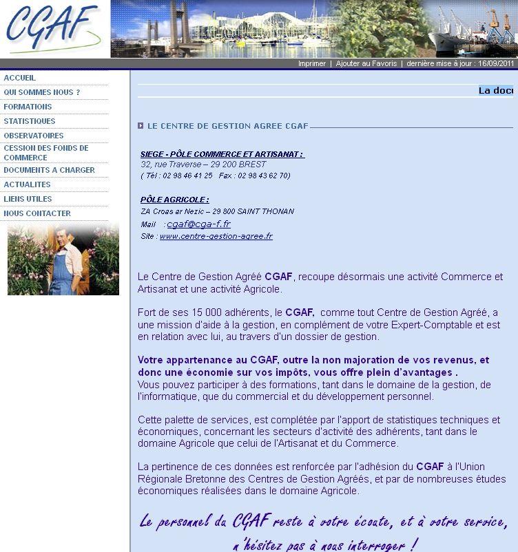 Cgaf Centre De Gestion Dans Le Finistere Gestion Brest Observatoire
