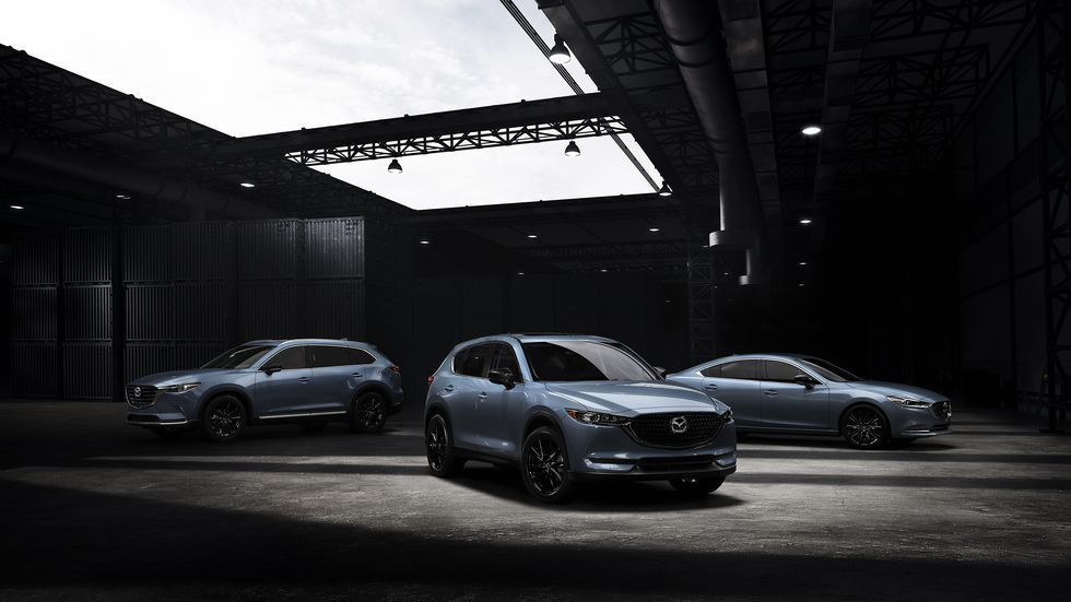 2021 Mazda Cx 5 Cx 9 And 6 Add Carbon Edition Appearance Package Mazda 6 Mazda Grey Exterior