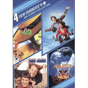 4 Film Favorites: Jim Carrey - Dumb And Dumber / The Mask / Yes Man / The Majestic
