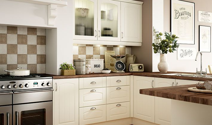 Oban traditional range of kitchen the for Wickes kitchen cupboards