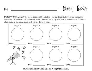 Printables Moon Phases Worksheet 1000 images about moon phases on pinterest solar system oreo and science worksheets