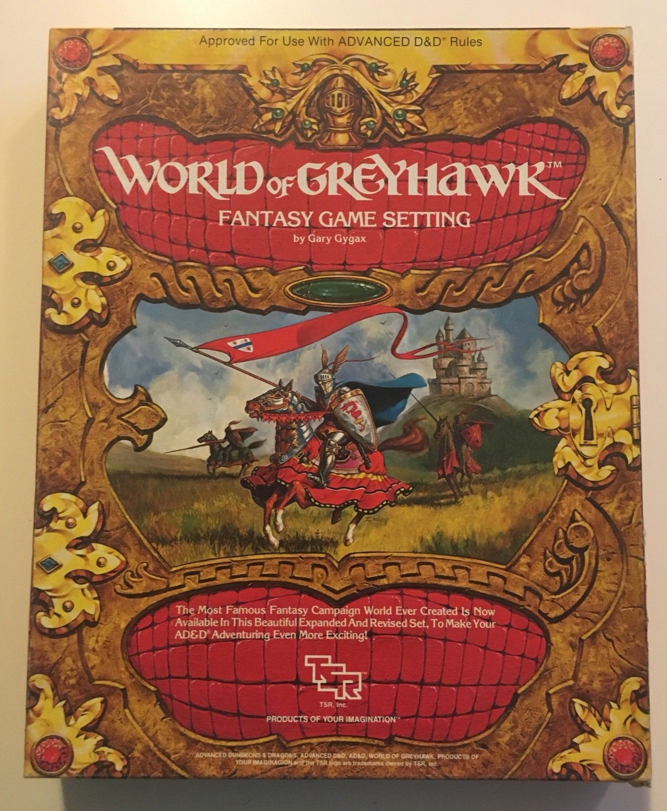 Greyhawk Box Set - from 1983. All materials included (2 booklets ...