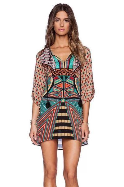 bcfd4c9780 Bohemian Vintage Dress-Mini Dress-SheSimplyShops