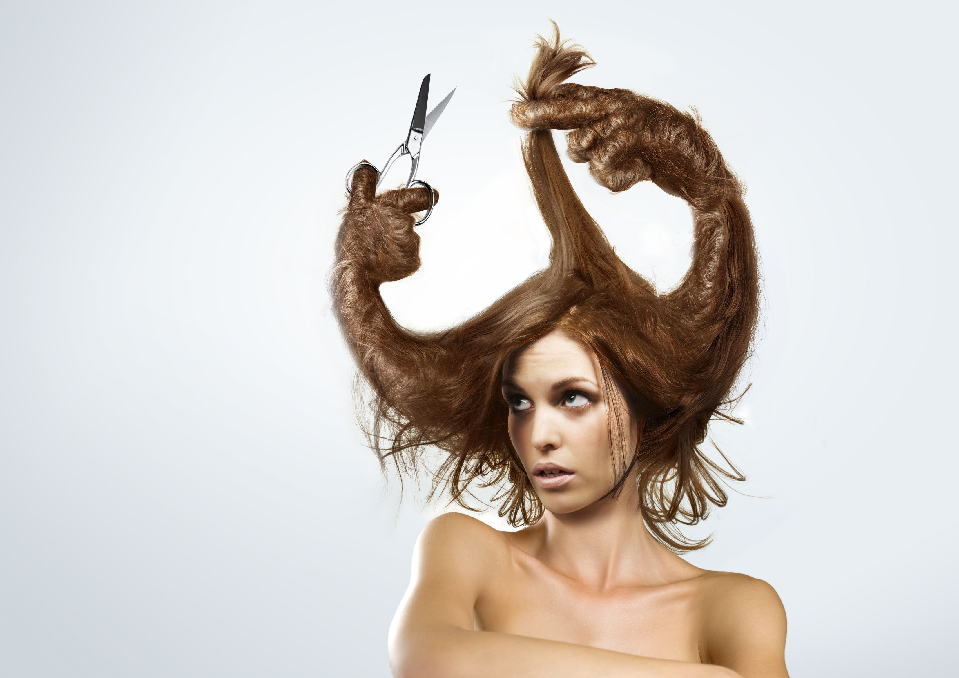 Check Out This Behance Project The Bad Hair Day S