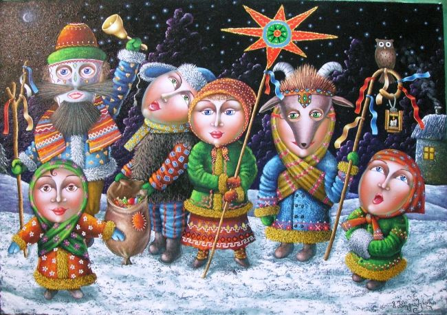 Slavic Christmas ~ Zurab Martiashvilli