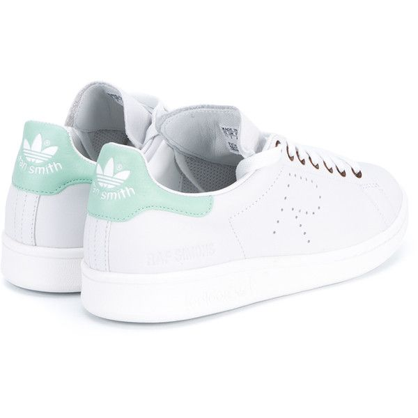 Raf Simons X Adidas Stan Smith Trainers ($280) ? liked on Polyvore  featuring shoes � Mint Green ...
