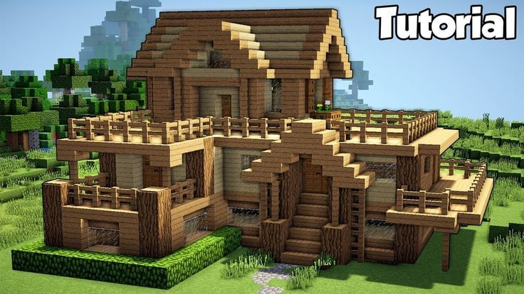 Easy Minecraft Houses Blueprints Minecraft Minecraft House Tutorials Minecraft Starter House Easy Minecraft Houses