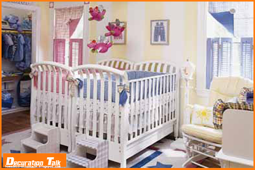 twin baby room decoration ideas http homedecorationtalk blogspot