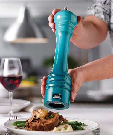 Look what I found on #zulily! Aqua Ombré Professional Pepper Mill #zulilyfinds
