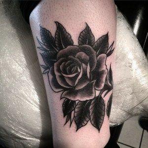 black rose tattoos 3