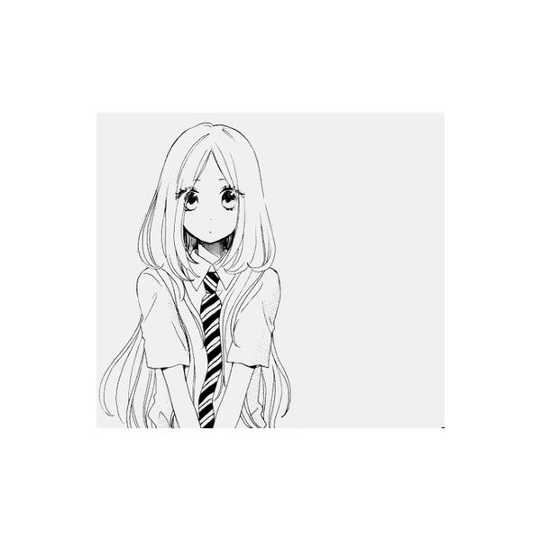 cute-hair-japan-kawaii-Favim.com-600831.jpg_large.png (PNG Image, 500... ❤ liked on Polyvore featuring anime, manga, anime girls, art and filler