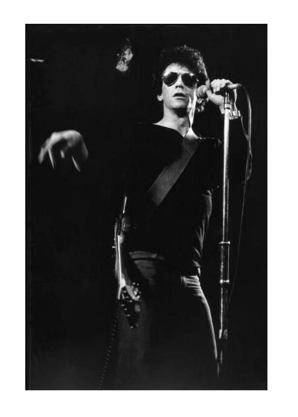 Lou Reed  / The Velvet Underground  | LEGENDS ICONS | Rock