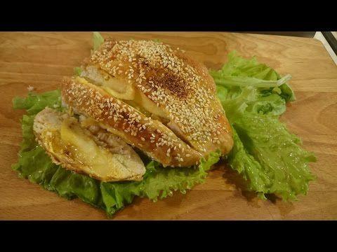 Куриная грудка, фаршированная салом и яблоком - кулинарный рецепт