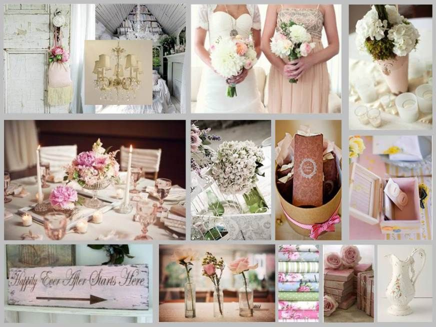 Shabby Chic Colors For 2015 : Shabby chic weddings multi colors i can only wish wedding