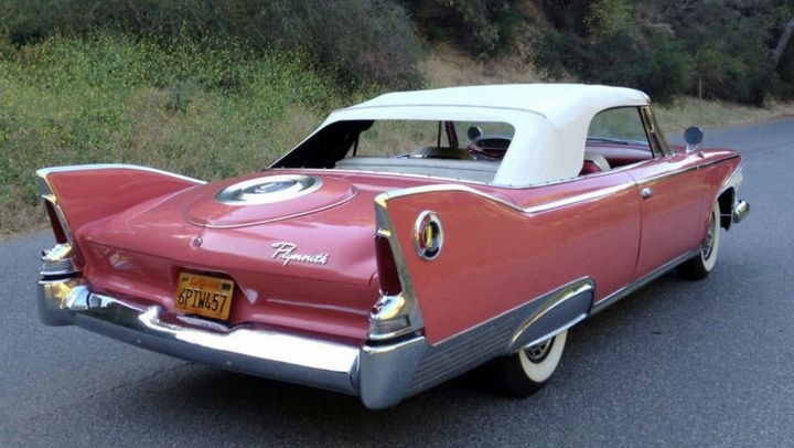 Weekend Edition A 1960 Plymouth Fury Convertible Equipped With