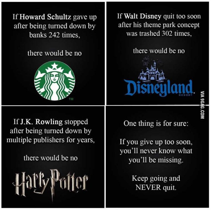 Just some motivation to the people who give up easily... - 9GAG