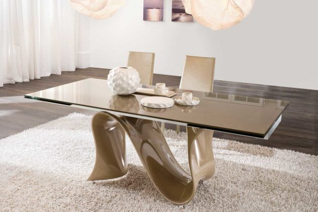 279bb255805 19 Impressive Dining Room Tables That You Should Check Out Glass Dining  Room Table