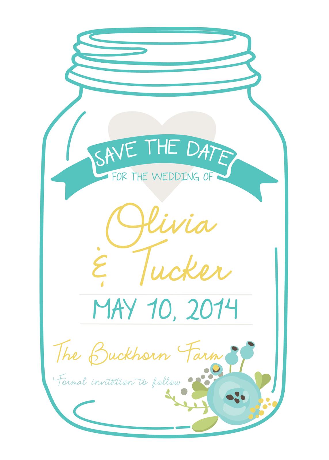 Mason Jar Invitation Clipart Invitationsprintable Wedding