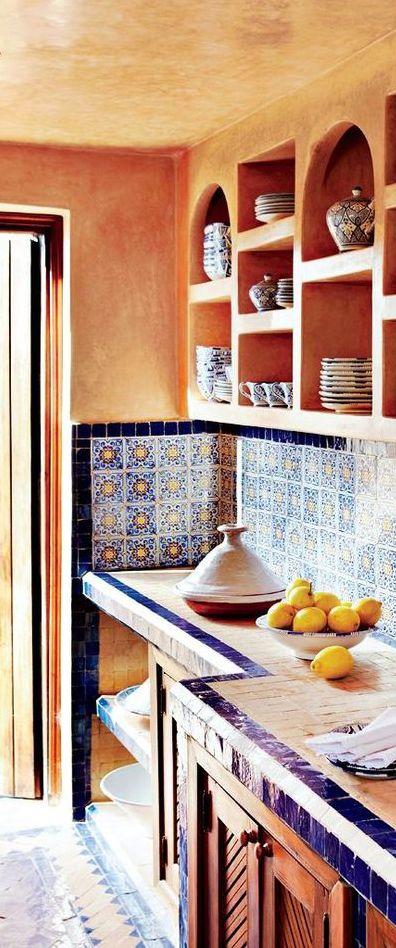 Exotic Kitchen Ethnic Kitchen Pinterest Moroccan kitchen