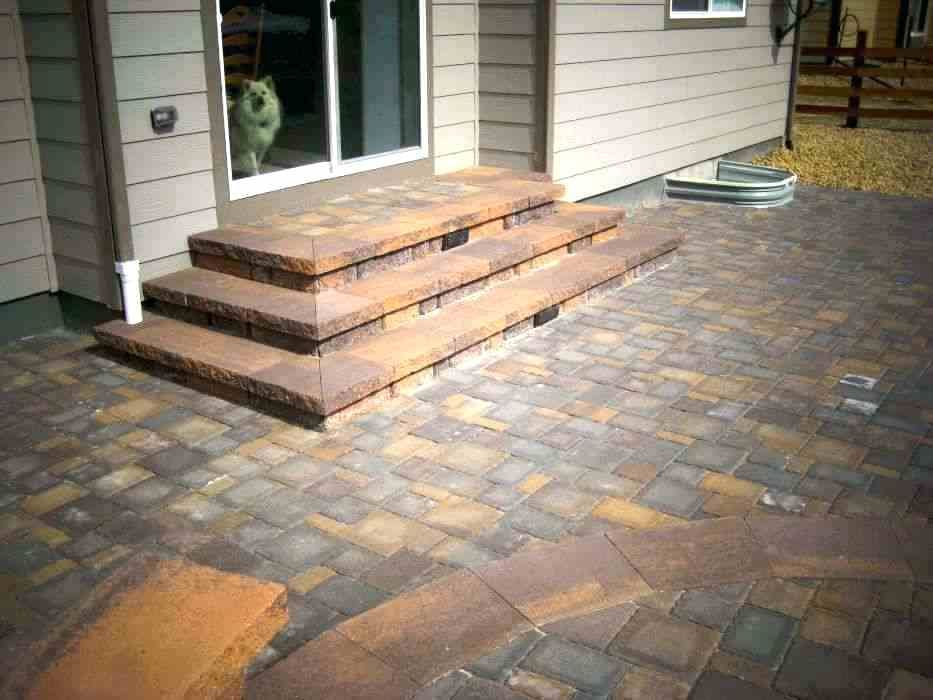 Paver Patio Steps Designs Patio Steps Awesome Landscape Design And Installation Contractor Greater Paver Patio Steps Ideas Patio Steps Patio Stairs Patio