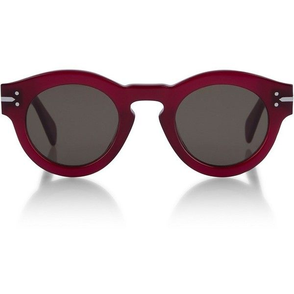 1fbe13dc3d21 Céline Teddy Sunglasses ( 295) ❤ liked on Polyvore featuring accessories