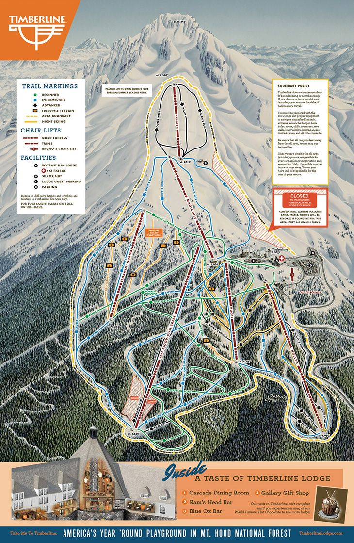 Courchevel Piste Map Trail Map