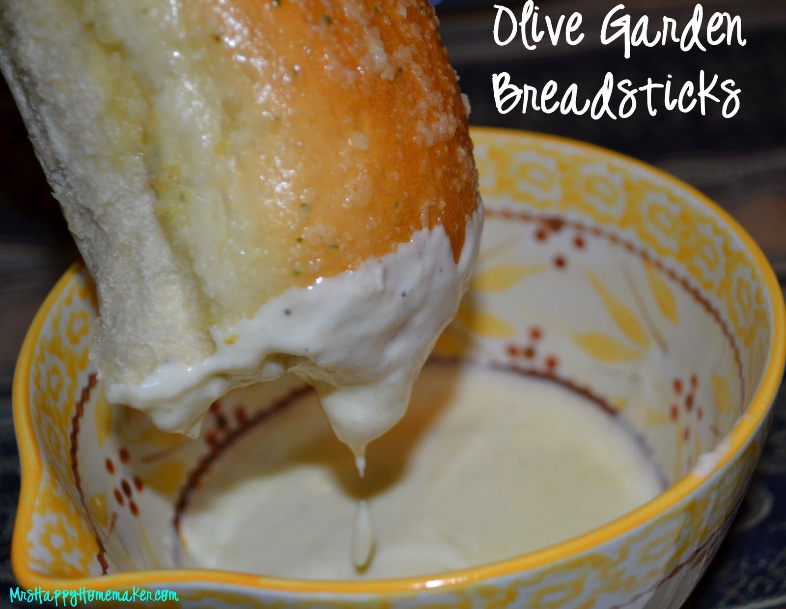 Mrs Happy Homemaker Olive Garden Breadsticks { Mrs Happy