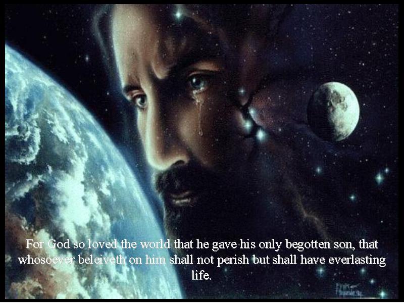 Wallpaper Tuhan Yesus Bergerak