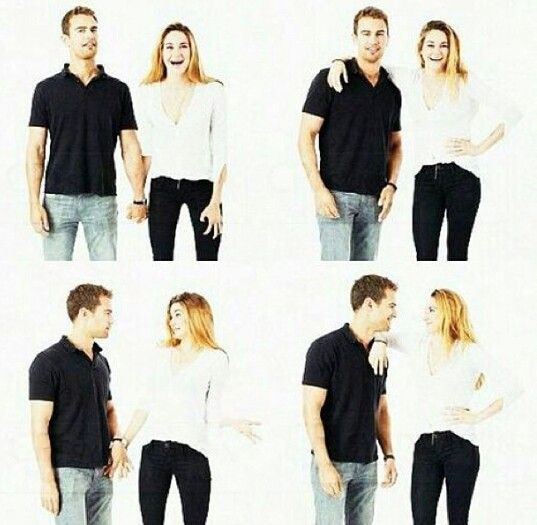 They're holding hands in that first one, you guys!! I ship SHEO! <-- Theo's in a relationship