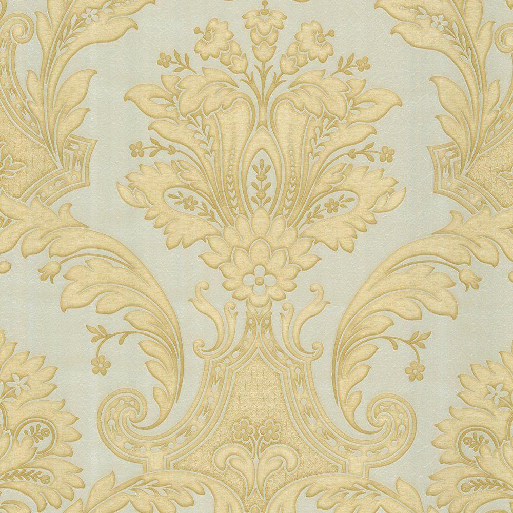 Belgravia Decor Damasco Italiano Wallpaper Gold / Taupe | 壁纸 ...