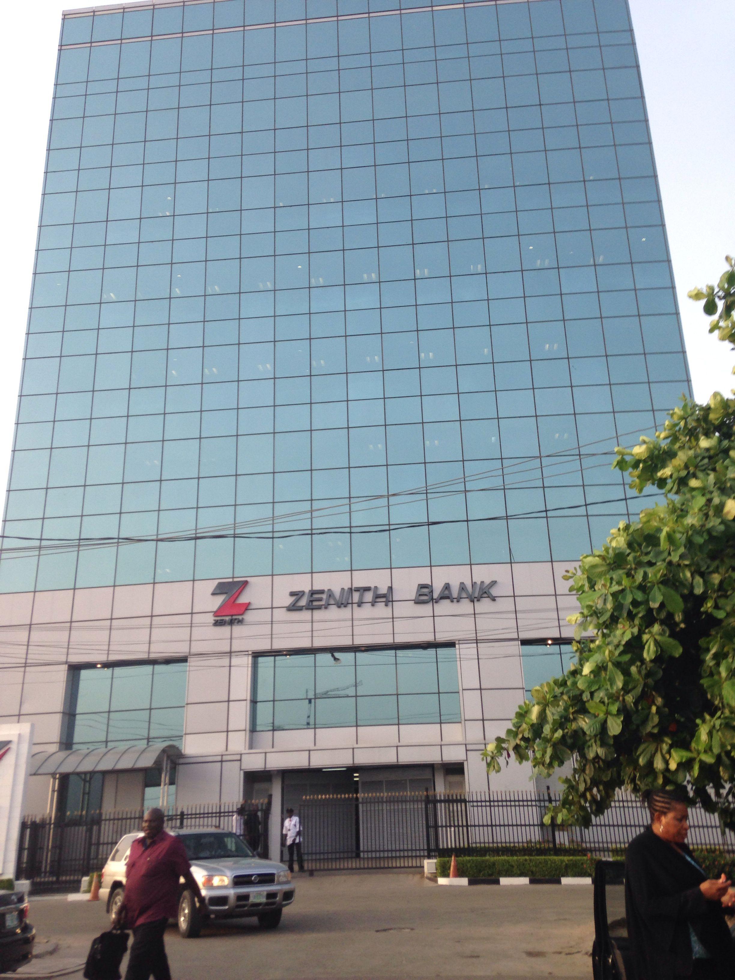 Zenith Bank Hq Ajose Adeogun Street Victoria Island Lagos Victoria Island Building Skyscraper