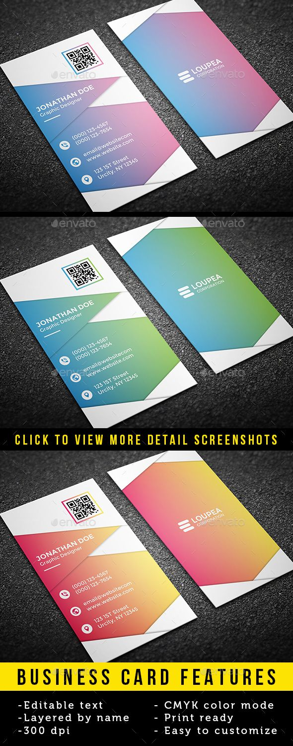 Business Card - Business Cards Print Templates Download here : https://graphicriver.net/item/business-card/19506127?s_rank=138&ref=Al-fatih