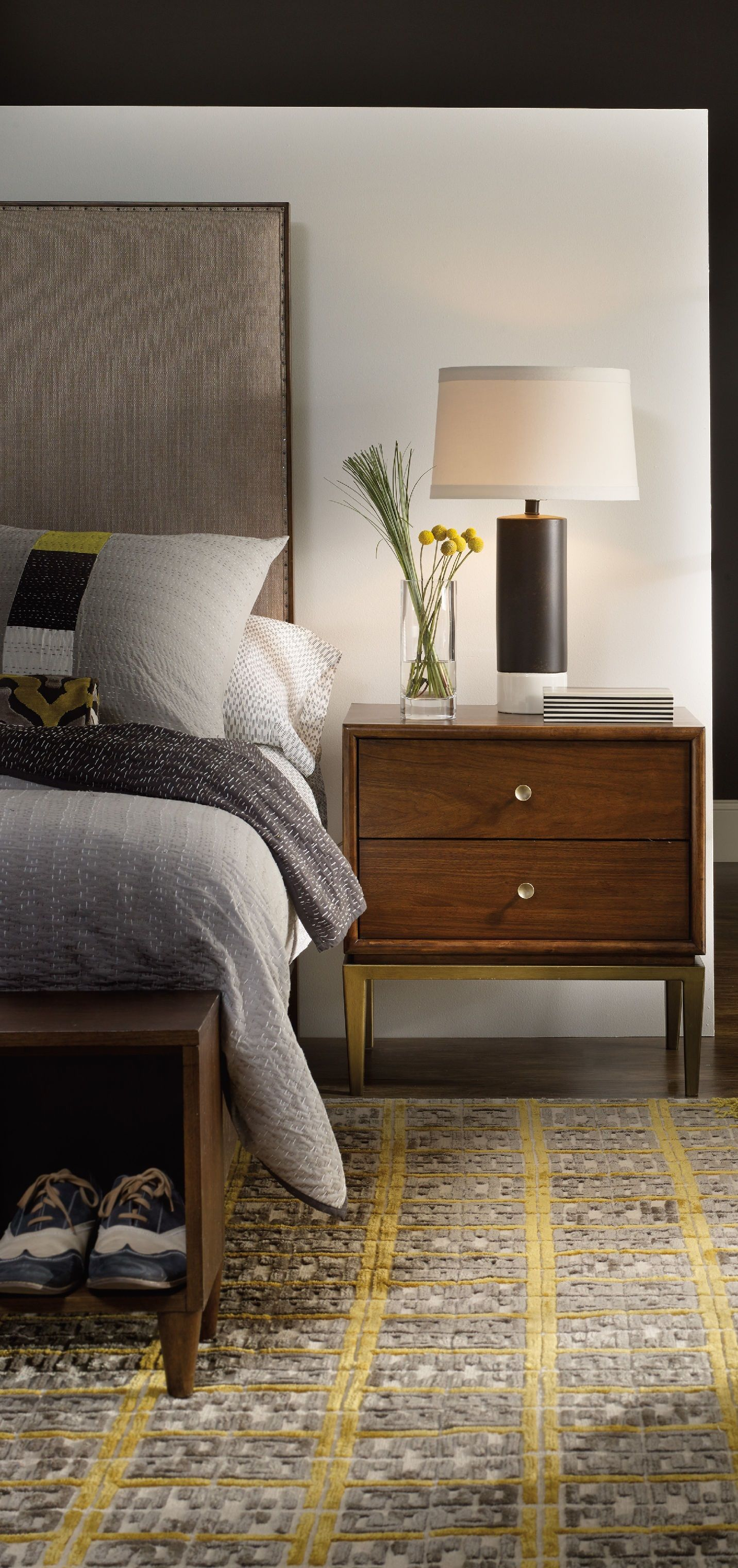 Luxury Nightstand Wooded nightstand with a simple looks