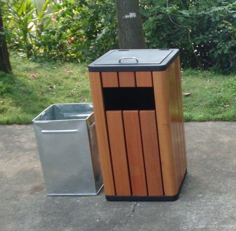 Outdoor Wooden Dustbin Outdoor Wooden Rubbish Bin View Wooden Rubbish Bin Gavin Product Details From Guangzhou Gavin Urban E Wooden Doors Dustbin Door Crafts