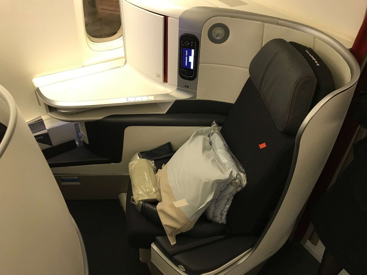 Reporte de Vuelo Business Class de Air France B777200ER