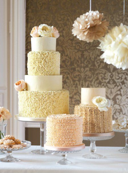 Whatever your wedding-day style, we'll have the cake to complete it. The best bit? You're not just looking; you'll be tastingtoo!