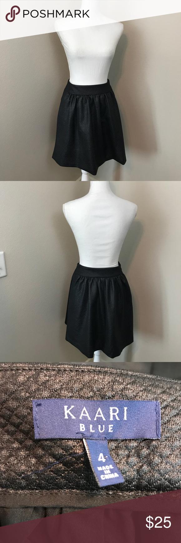 Kaari Blue Textured Skirt   Textured skirt, Fashion, Skirts