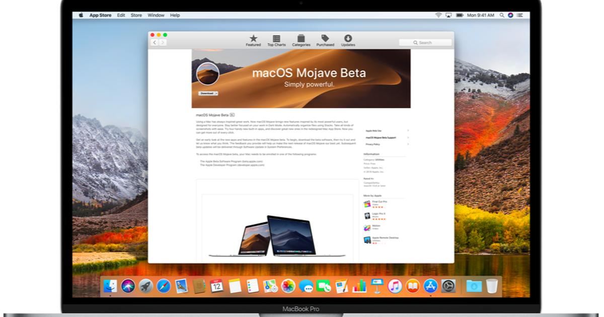 How to install the macOS Mojave public beta Public, Mac