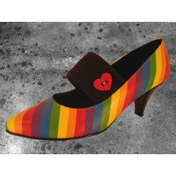 factory authentic buy online exclusive range Rainbow kitten heels, to go with all of the other rainbow stuff I ...