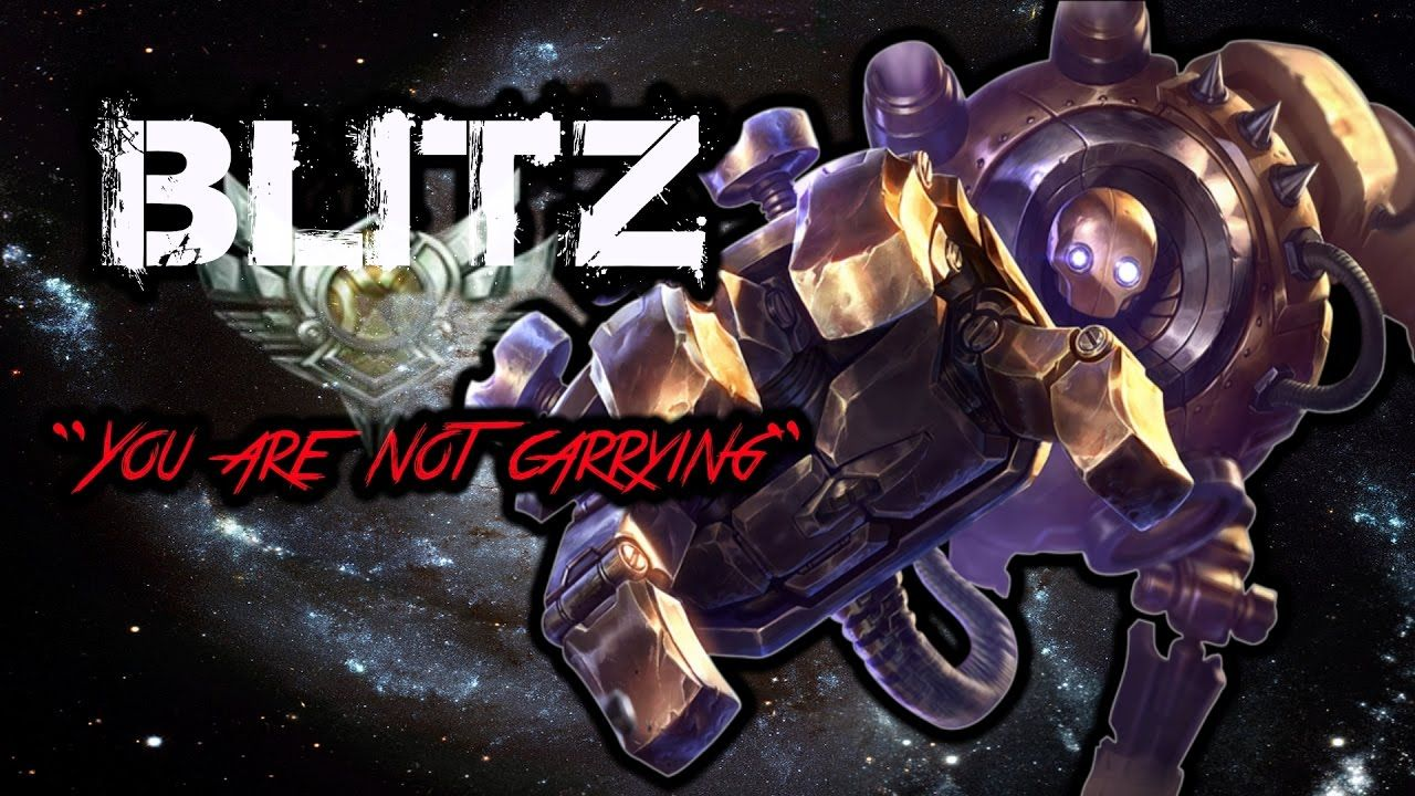 "Blitz ""BackFire"" League Of Legends ""Blitz stop"