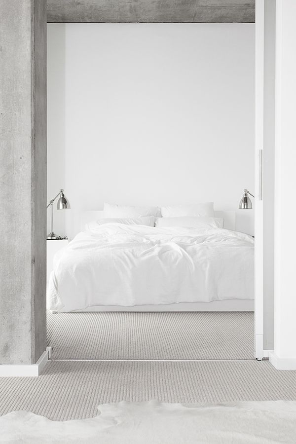 Inspiration 365 All White Bedroom Minimalist Bedroom White Rooms