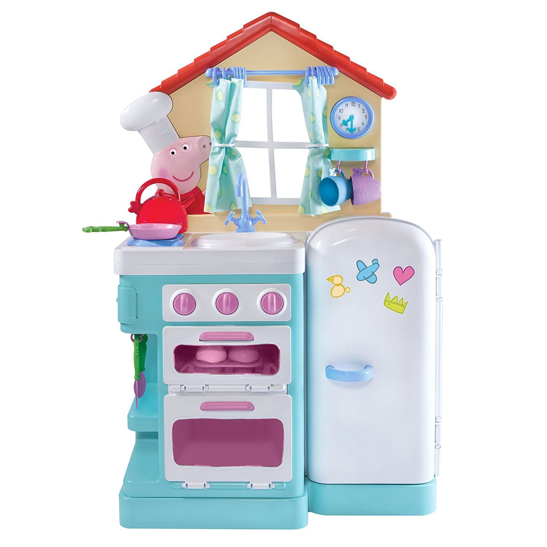 Toys Pig Kitchen Little Kitchen Peppa Pig