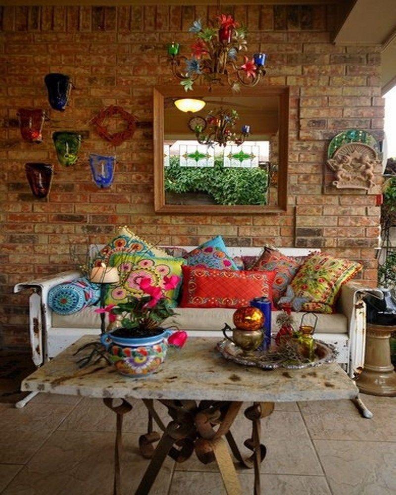 Patio rustic swing setee boho morro livingroom ideas pinterest