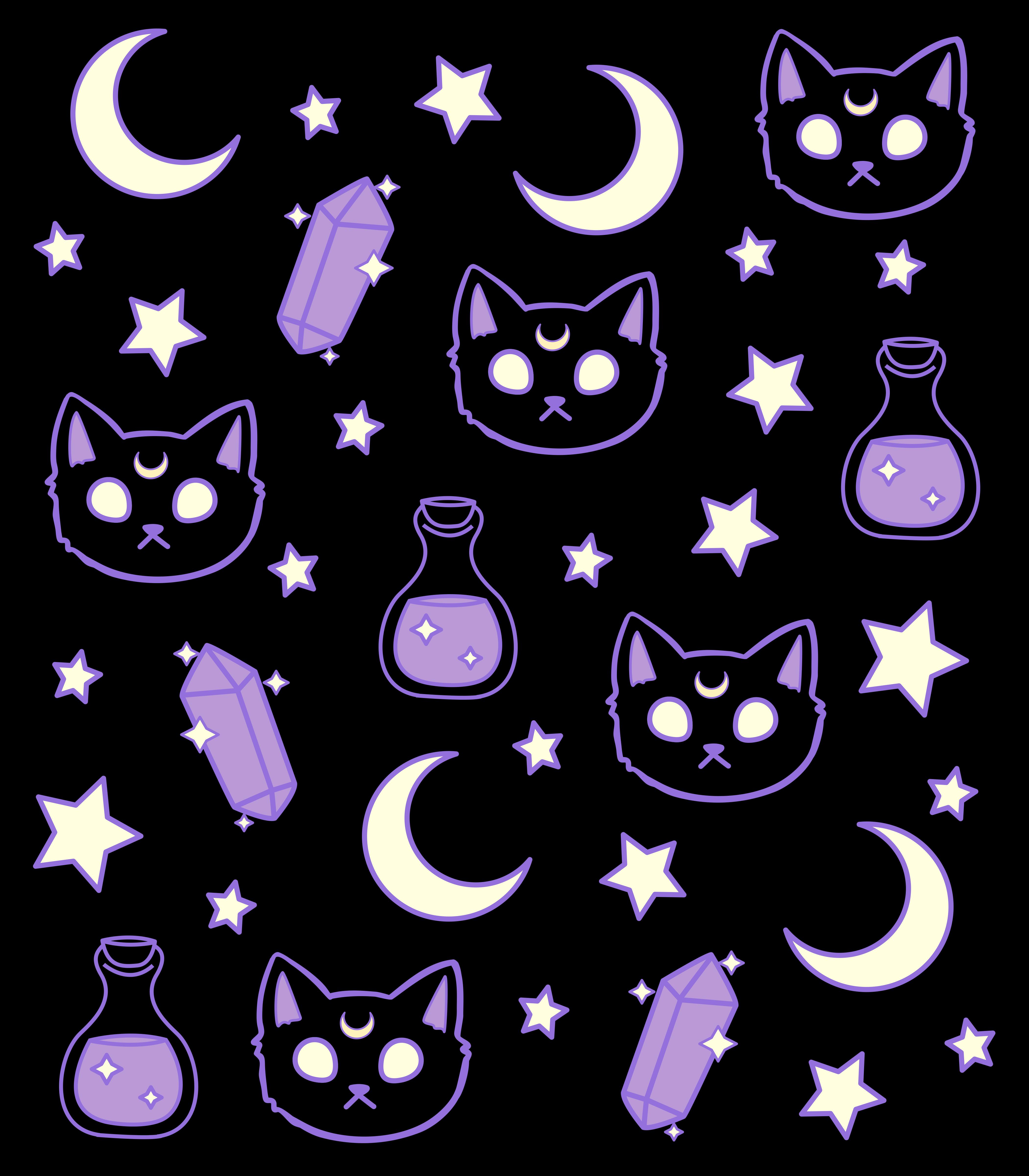 Pastel goth home decor Neon Retro Halloween Bats Wall Art Print Spooky Cute Party Bat Art Print; 8.5 x 11 Creepy Cute Bat Painting Print