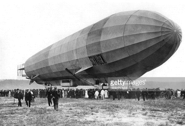 """The first airline DELAG """"Deutsche Luftschiffahrts"""