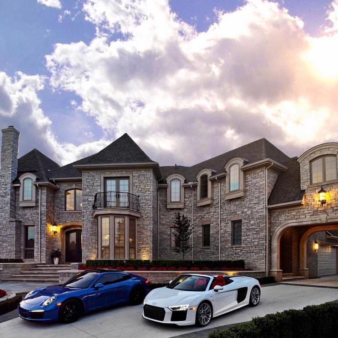 Mansion Or Cars Which One Would You Take Follow Pureluxury Lifestyle For More Imaginedesignandbuild Mansions Rich Home House